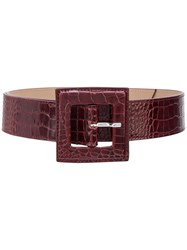 B Low The Belt Croc Effect Buckle 60