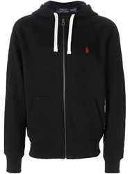 Polo Ralph Lauren Zip Up Hoodie Black