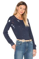 Nsf Esquival Long Sleeve Top Blue