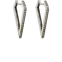 Eva Fehren Women's Dagger Hoop Earrings Gold