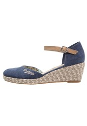 Dockers By Gerli Wedges Dunkelblau Dark Blue