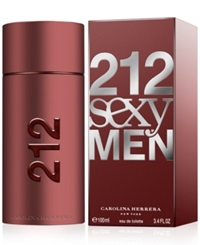 212 Sexy By Carolina Herrera For Men Eau De Toilette 3.4 Oz No Color