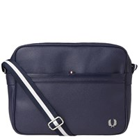 Fred Perry Scotch Grain Shoulder Bag Blue
