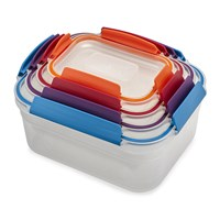 Joseph Joseph Nest Lock Compact Storage Containers Multicolour Set Of 4