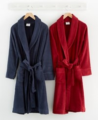 Hotel Collection Finest Modal Robe Luxury Turkish Cotton Only At Macy's Bedding Navy