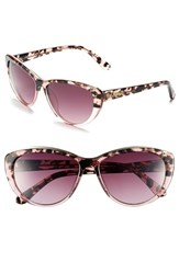 Women's Lilly Pulitzer 'Marianne' Cat Eye Sunglasses Gradient Pink Tortoise