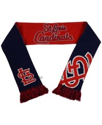 Forever Collectibles St. Louis Cardinals Reversible Split Logo Scarf Red