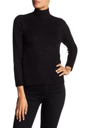 Research And Design Mock Turtleneck A Line Sweater Petite Black