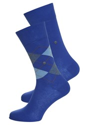 Burlington 2 Pack Socks Deep Blue