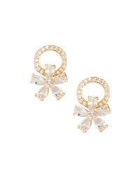 Fragments For Neiman Marcus Cubic Zirconia Bow Stud Earrings