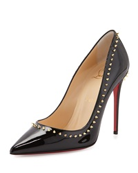 Christian Louboutin Anjalina Spike Patent Red Sole Pump