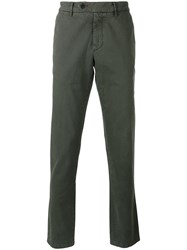 7 For All Mankind Chino Trousers Green