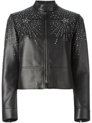 Valentino 'Star Studded' Jacket Black