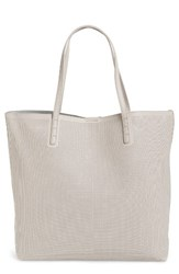 Street Level Reversible Perforated Faux Leather Tote