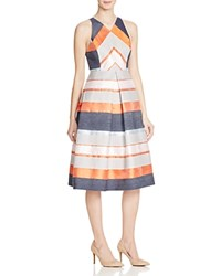 Whistles Striped Jacquard Dress 100 Bloomingdale's Exclusive Multi
