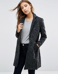 Sugarhill Boutique Layla Textured Coat Grey