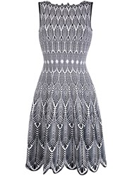 Antonino Valenti Feather Printed Day Dress 60