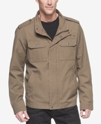 G.H. Bass And Co. Men's Military Inspired Jacket Khaki