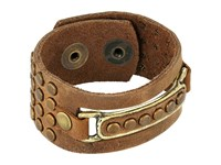 Leather Rock B770 Rough Brown Bracelet