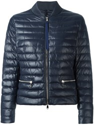 Moncler Buglose Padded Jacket Blue