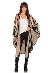 Mara Hoffman Knit Cape Brown