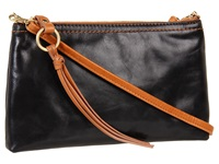 Hobo Darcy Black Vintage Leather Cross Body Handbags