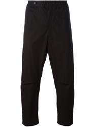 Oamc Drop Crotch Trousers Black