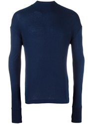 Diesel Black Gold Crew Neck Jumper Blue