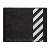 Off White Black Diag Bifold Wallet