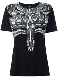 Marcelo Burlon County Of Milan Snake Print T Shirt Black