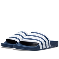 Adidas Adilette Blue And White