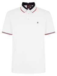 Victorinox Ascent Regular Fit Polo Shirt White