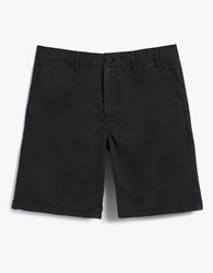Norse Projects Aros Light Twill Shorts In Black