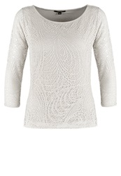 Comma Long Sleeved Top Champagner Beige