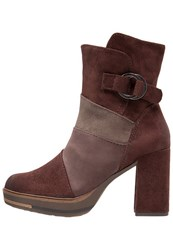 Marco Tozzi Platform Boots Cafe Brown