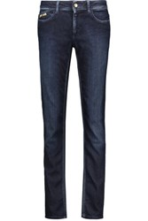 Just Cavalli Low Rise Skinny Jeans Dark Denim