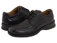 Dockers Trustee Black Tumbled Leather Men's Lace Up Bicycle Toe Shoes