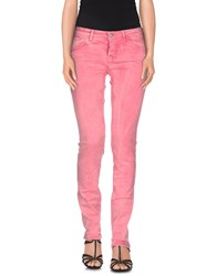 Patrizia Pepe Denim Denim Trousers Women Pink