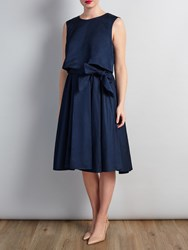 Bruce By Bruce Oldfield Easy Summer Dress Navy