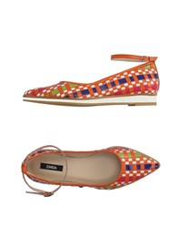 Zinda Footwear Ballet Flats Women Orange