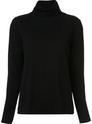 Co High Neck Sweater Black