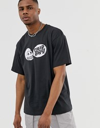 Cheap Monday Speech Logo T Shirt Black