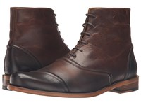 Billy Reid Crosby Boot Dark Brown Men's Lace Up Boots