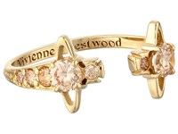 Vivienne Westwood Reina Ring Yellow Gold Champagne Ring