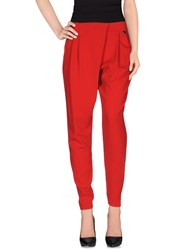 Mangano Trousers Casual Trousers Women Red