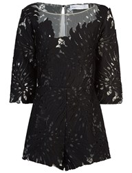 Alice Mccall Black Lace Rumours Playsuit