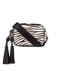 Rafe Sophie Snakeskin And Zebra Calf Hair Crossbody Camera Bag