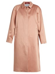Sies Marjan Ghotus Bonded Satin Coat Light Pink
