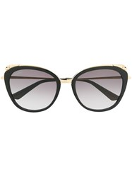 Cartier Oversized Sunglasses Black