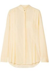 Maggie Marilyn Woman It's The Little Things Cotton Poplin Shirt Pastel Yellow